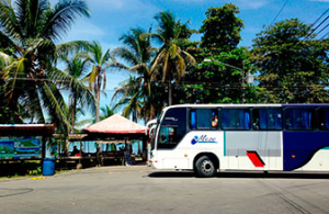 Cahuita bus station